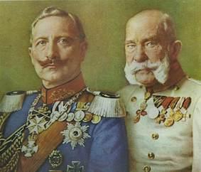 Rey Guillermo II y Rey Francisco José