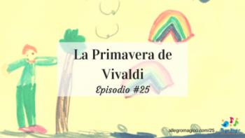La Primavera de Vivaldi para niños.