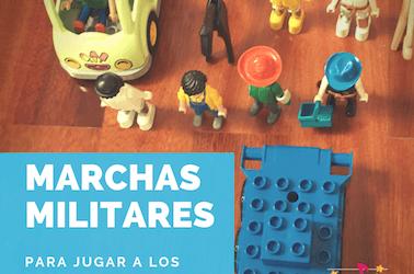 19 Marchas militares para jugar a los desfiles.