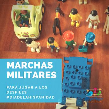 Marchas militares para niños