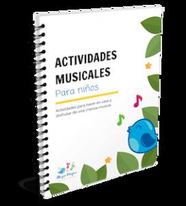PDF Actividades Musicales para niños