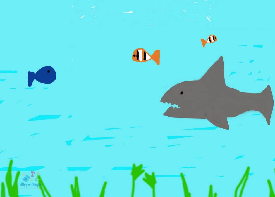 Tchai va al acuario.