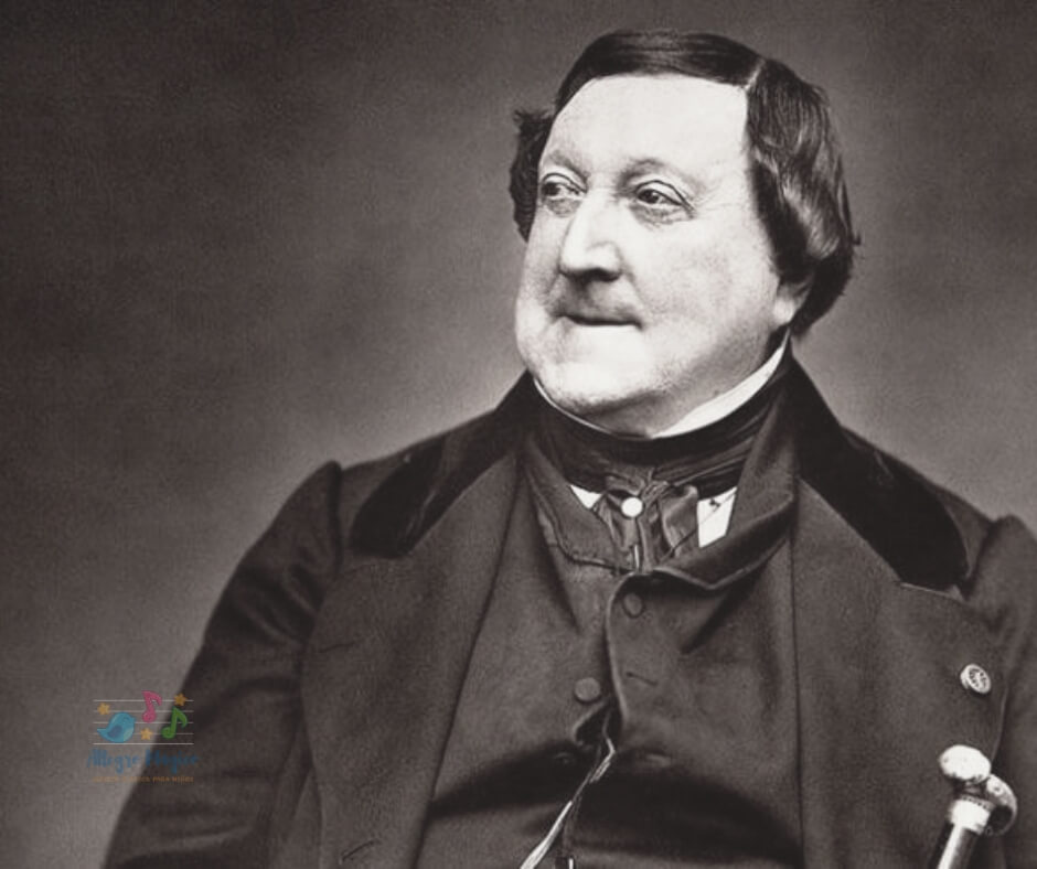 ¿Quién fue Rossini? - Biografía para niños