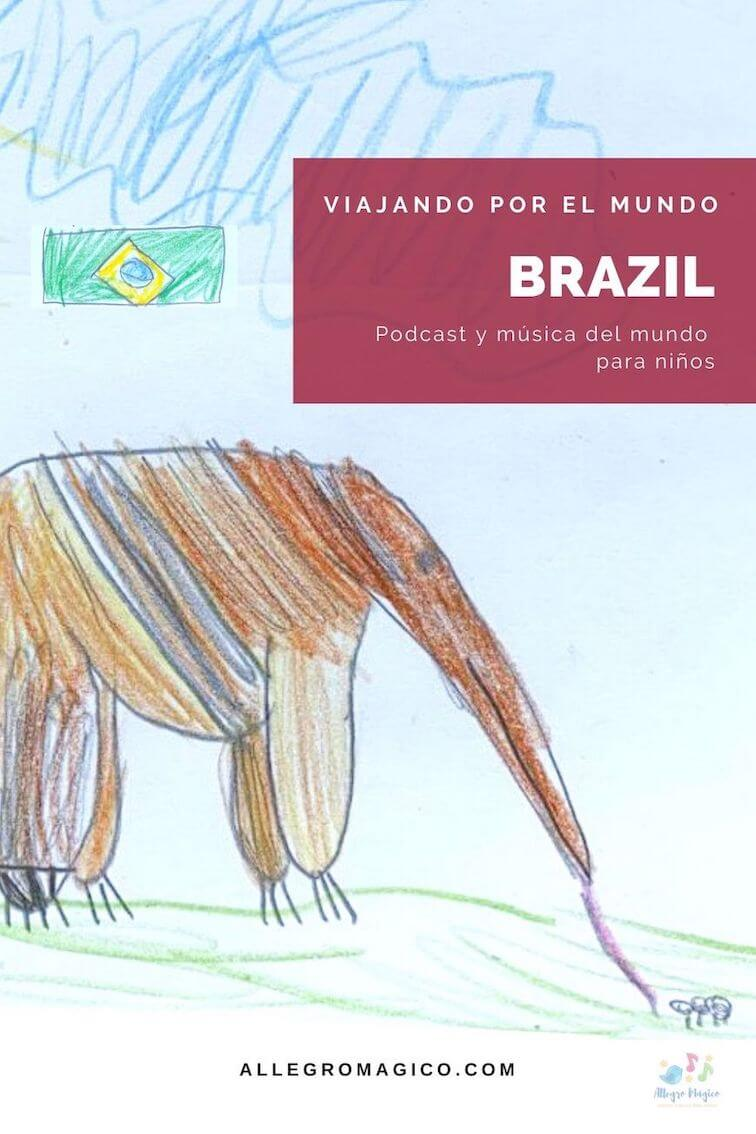 Música de Brasil para niños