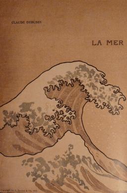 """Portada de la obra """"La Mer"""""""