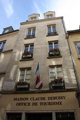 Casa natal de Debussy.
