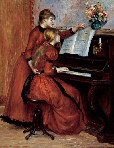 1889 - Lecciones de piano