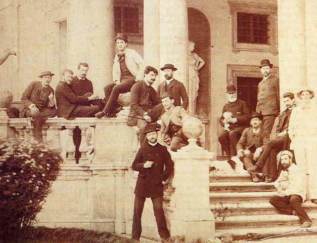 Debussy en el conservatorio.
