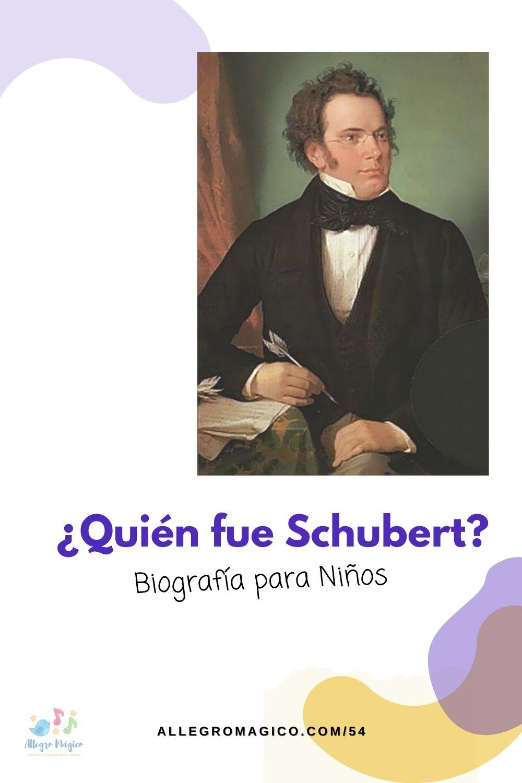 Biografía Schubert para Niños