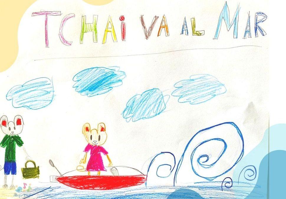 Tchai va al mar.