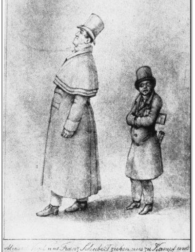 Cuánto medía Franz Schubert
