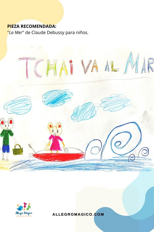 """""""La Mer"""" de Debussy para niños"""
