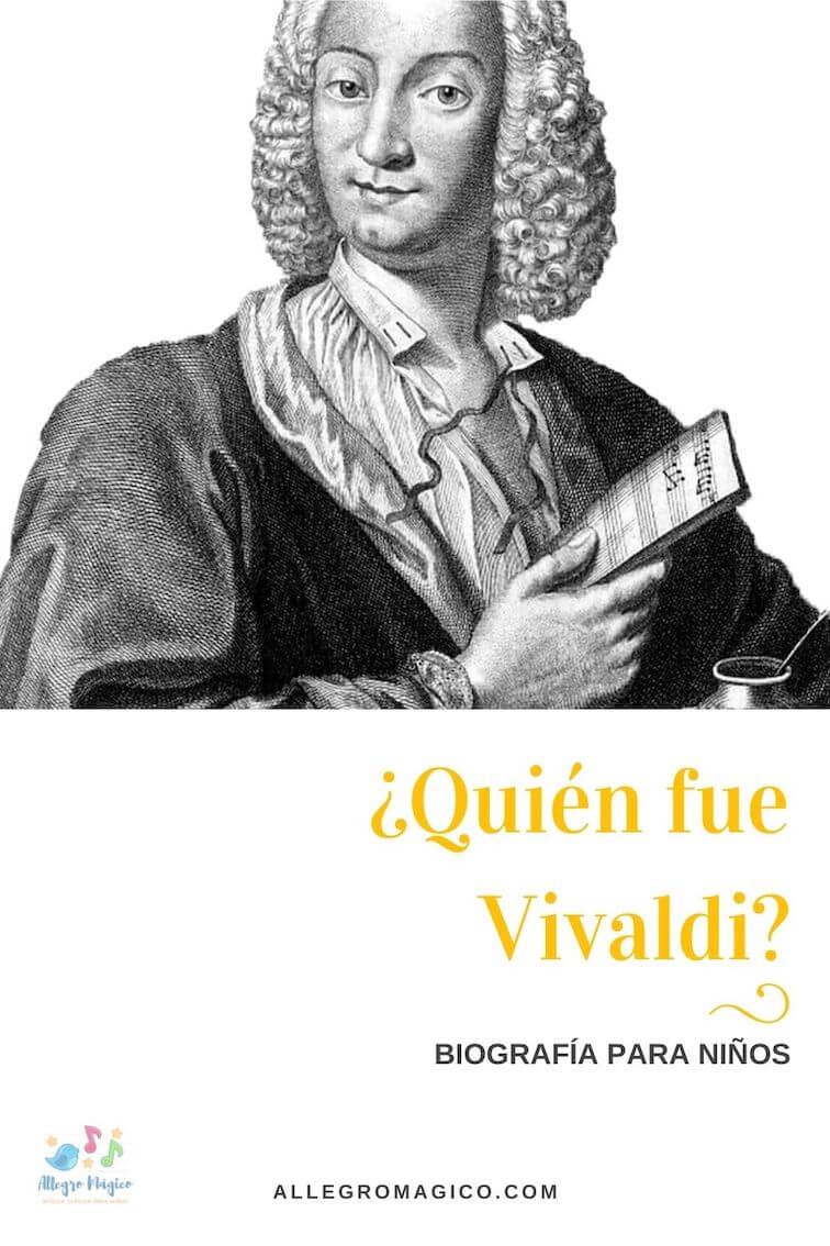 Biografía de Vivaldi para Niños