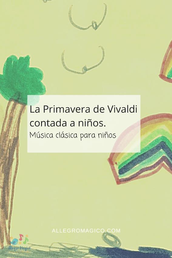 Primavera de Vivaldi para niños