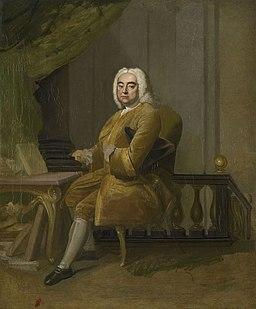 Pintura de Händel por Thomas Hudson