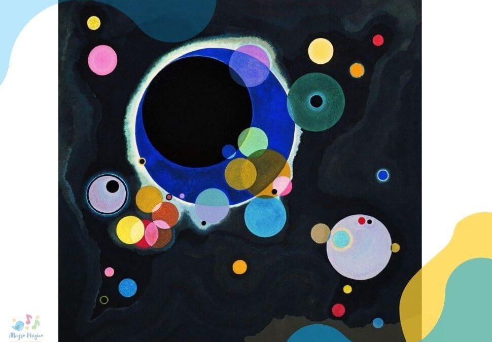 Música y pintura para niños: obras de arte relacionadas con la música.