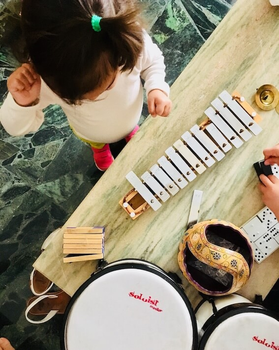 Instrumentos musicales para niños por menos de 50€