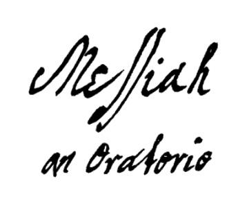 Título de El Mesías de Händel