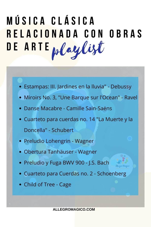 Playlist: música y pintura para niños