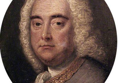 G. F. Händel por Thomas Hudson
