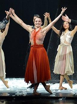 Bailarina Nancy Osbaldeston - Producción 2017