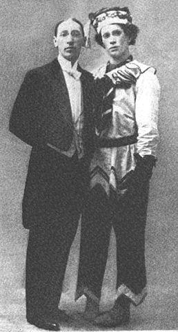 Stravinsky y Nijinsky