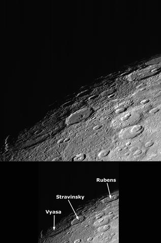 Cráter Stravinsky.