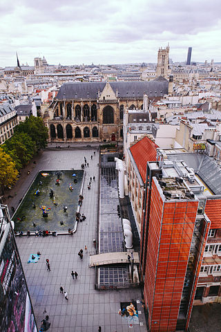 Plaza de Igor Stravinsky, París