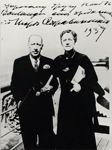 Stravinsky y Boulanger
