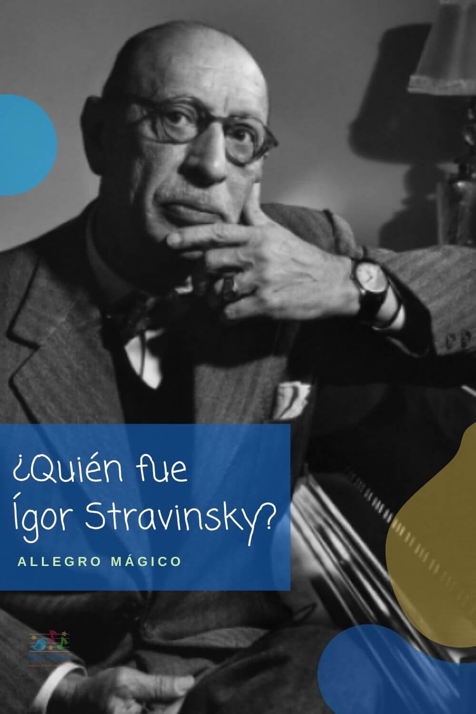 Igor Stravinsky para niños - biografía corta