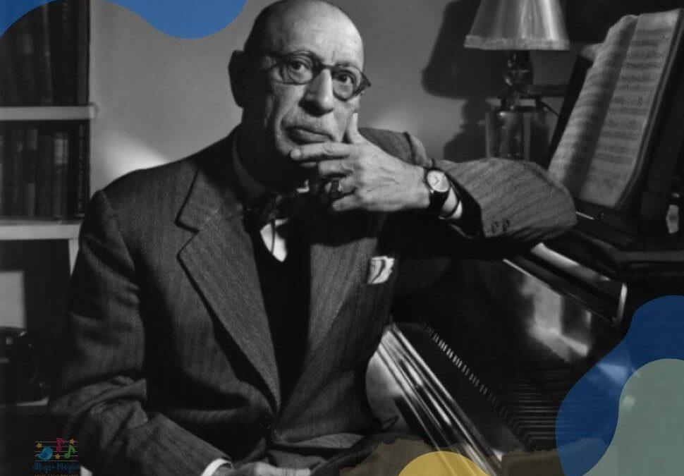 ¿Quién fue Stravinsky? Biografía para niños.