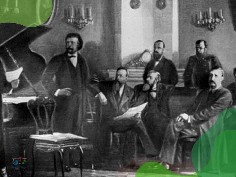 El grupo de Los Cinco Rusos