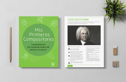 Mis primeros compositores | 5 biografías para niños