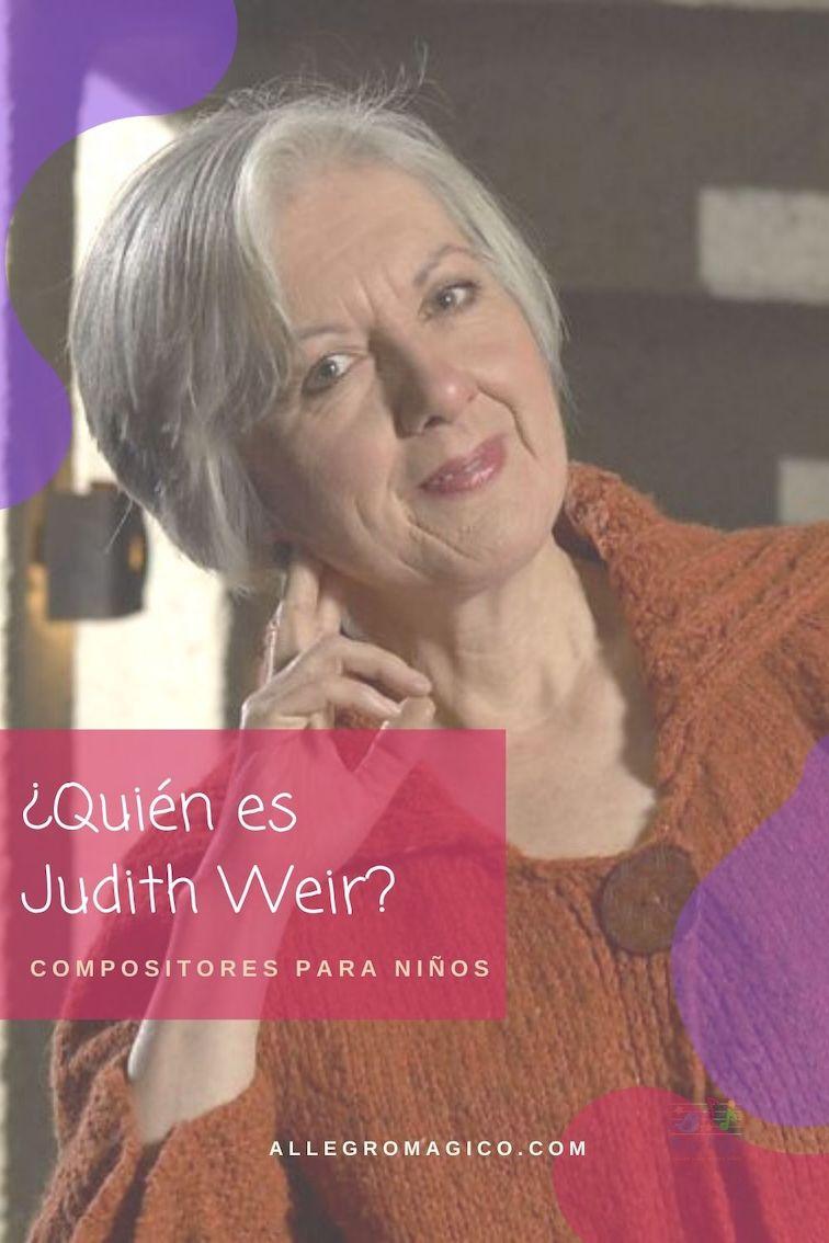 Conoce a Judith Weir