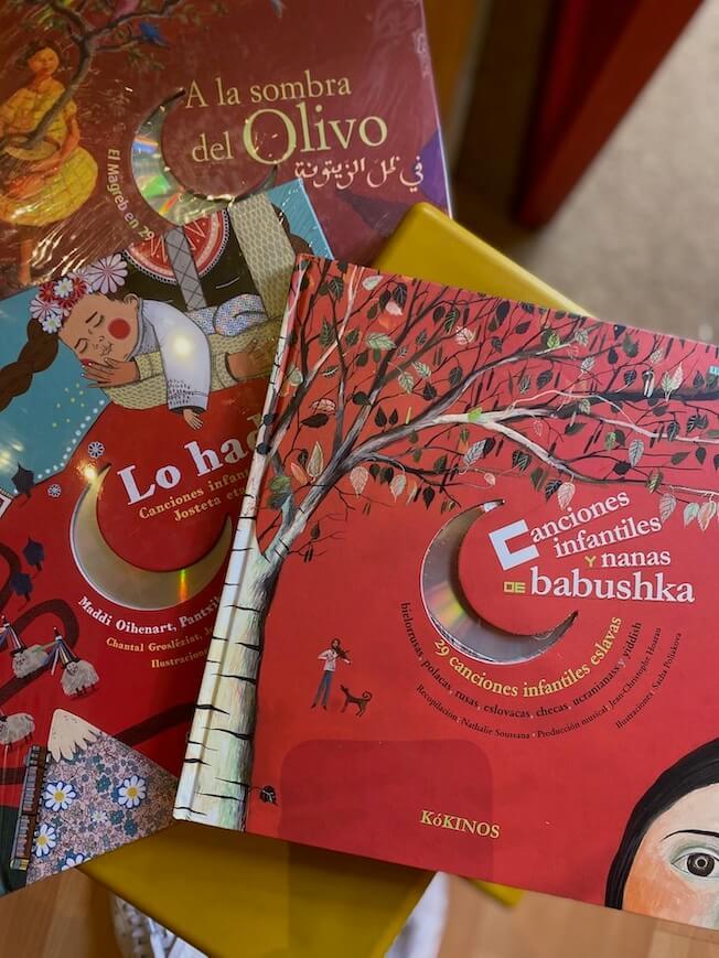 Colección libros con música de Kokinos