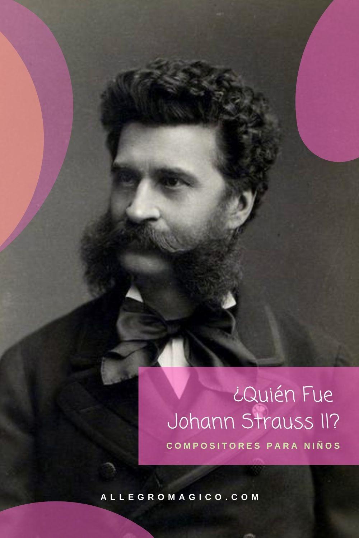 Johann Strauss II | Biografia Corta para Niños