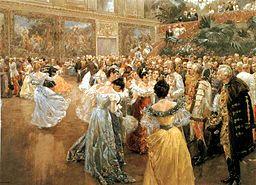 Wilhelm Gause - Baile de la Corte en Viena 1900
