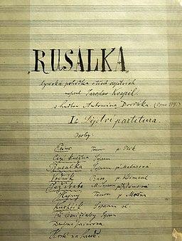Portada de Rusalka