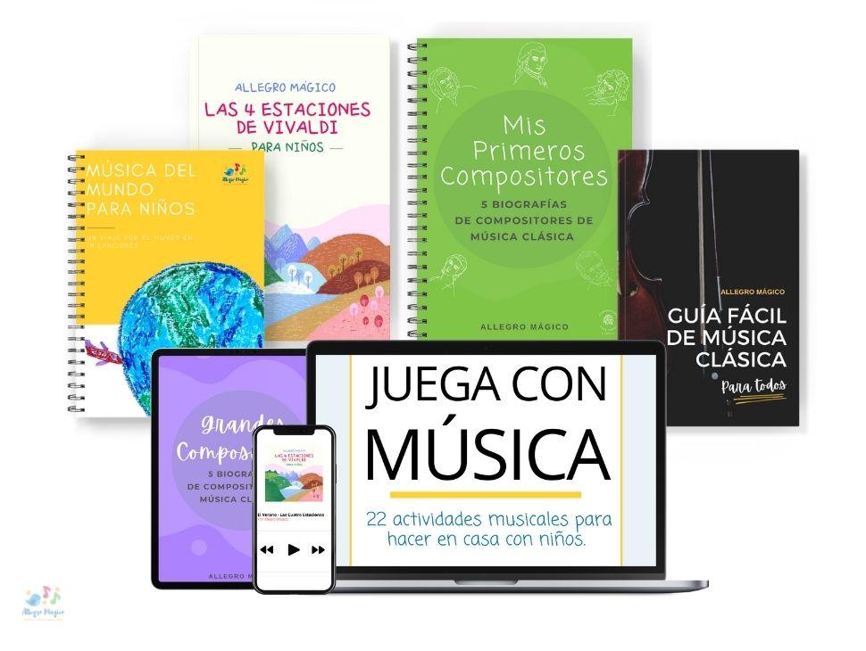 Descargables para aprender sobre música clásica