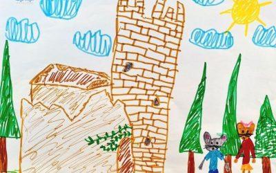 Tchai descubre un castillo.